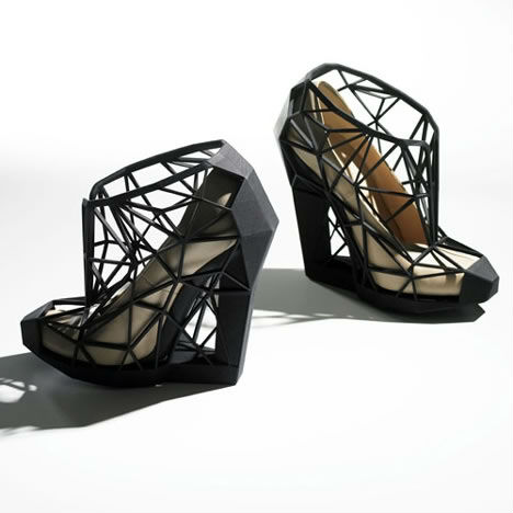 3D Printed Fashion Invisible Shoe 1