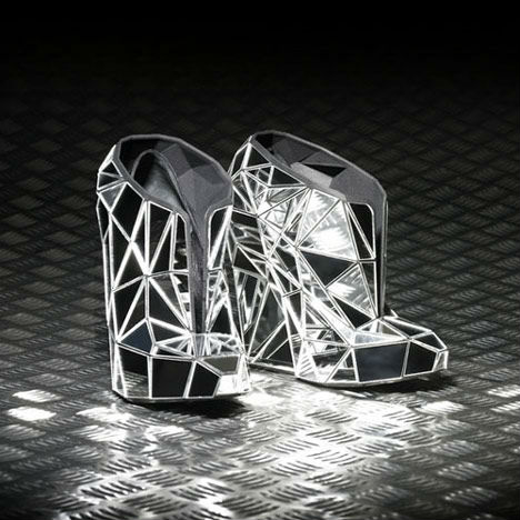 3D Printed Fashion Invisible Shoe 2