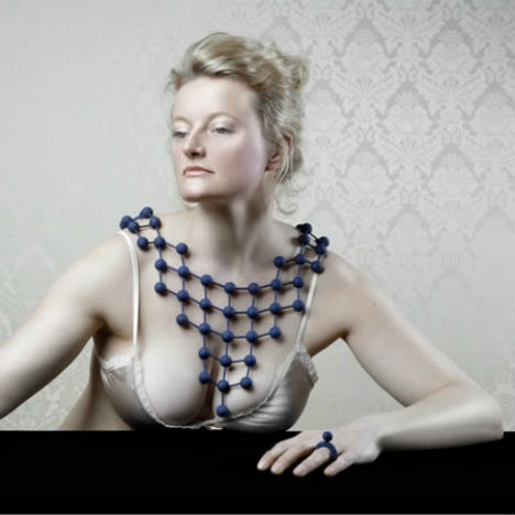 3D Printed Fashion Jointed Jewels 2