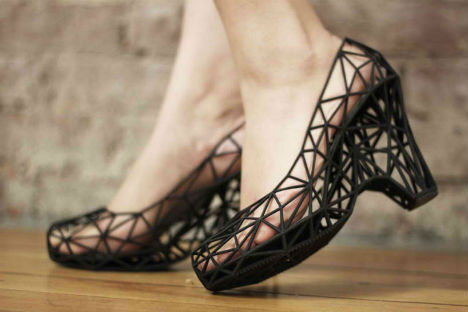 3D Printed Fashion Strvct Shoes