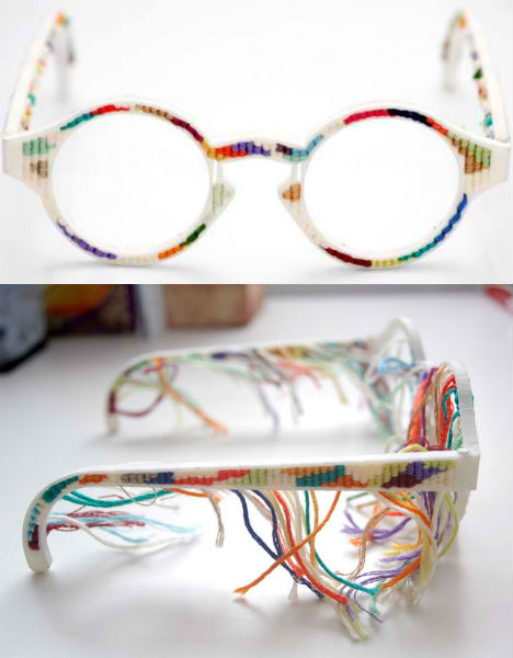 3D Printed Fashion Tapestry Glasses