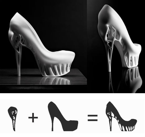 3D Printing Biomimicry Shoe