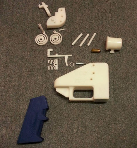3d firearm parts disassembled