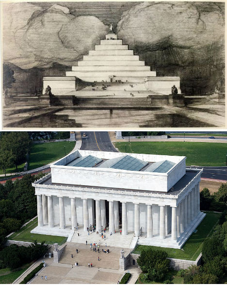 Alternative Monuments Lincoln Memorial