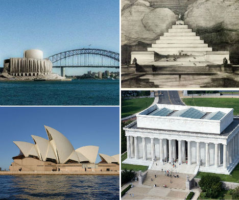 Alternative Landmarks: 12 Monuments As They Almost Were