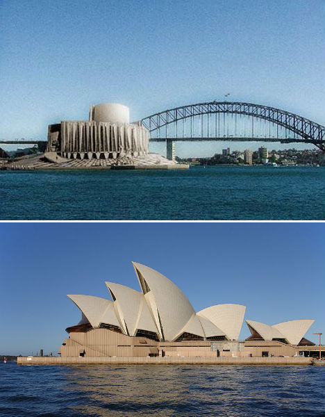 Alternative Monuments Sydney Opera House