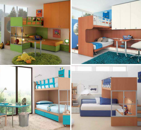 childrens bedrooms. 8 Compact Colorful Bedrooms by GAB Kids  Rooms Rule 32 Creative Fun for Children Urbanist