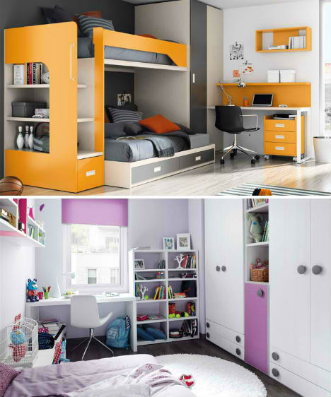 Kids rooms rule 32 creative fun bedrooms for children for Room design rules