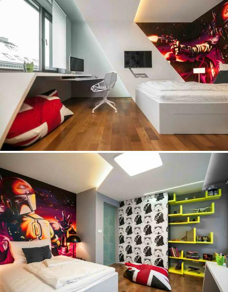 Kids Bedrooms Star Wars