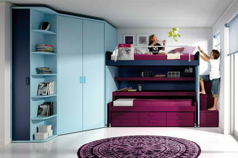 Fun Bedrooms kids' rooms rule: 32 creative & fun bedrooms for children | urbanist