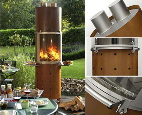 Modern Grills Wood Burning