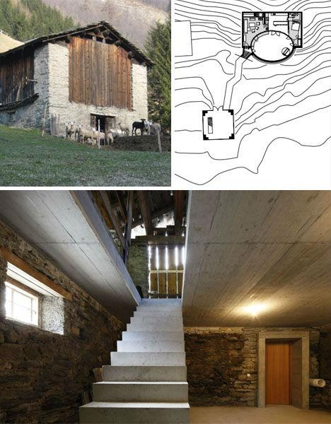 Underground Lairs Barn Home 2