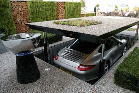 Underground Lairs High Tech Garage