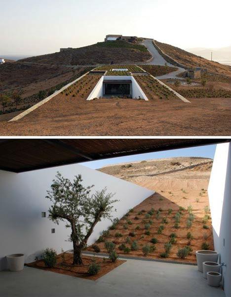 Underground Lairs Rural Greece