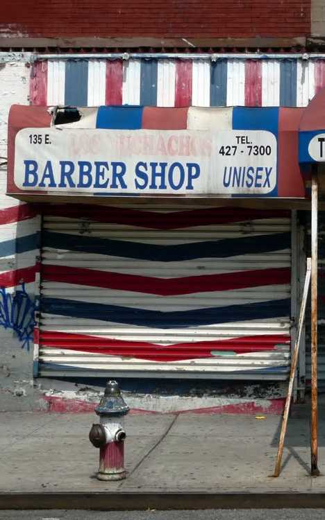 Barber Shop In Spanish : Can?t Be Shaved: 12 Abandoned Barber Shops Urbanist