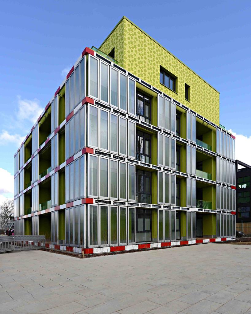 bio adaptive facade design