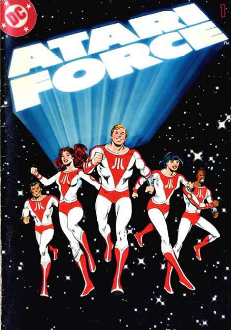 Atari Force corporate superheroes