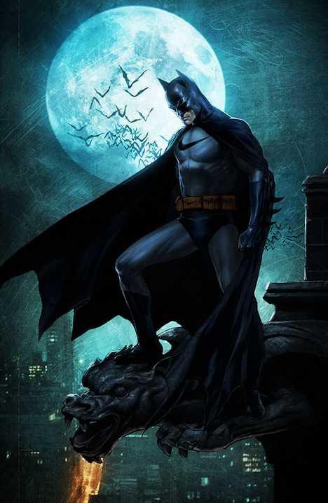 Batman Nike Roberto Vergati Santos corporate superheroes