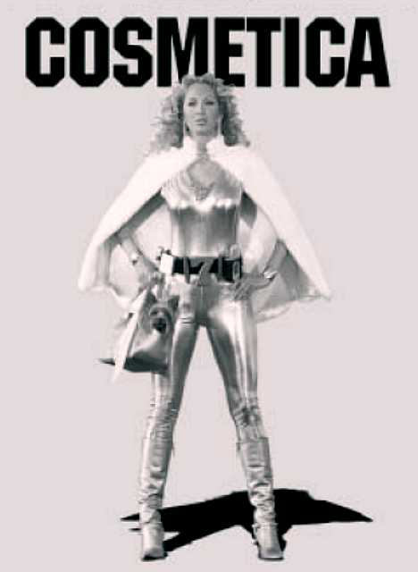 Cosmetica The Super Seven lottery corporate superheroes