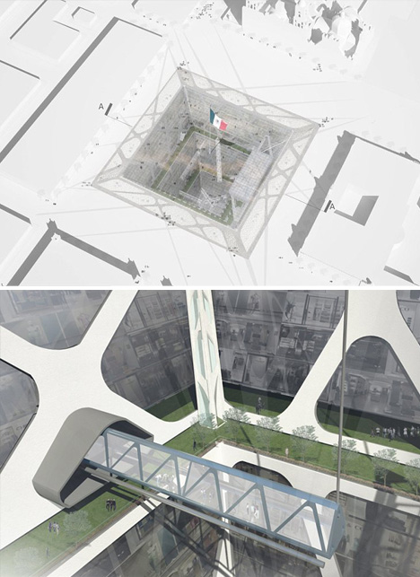 earth scraping underground building