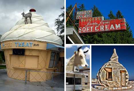 abandoned ice cream stands