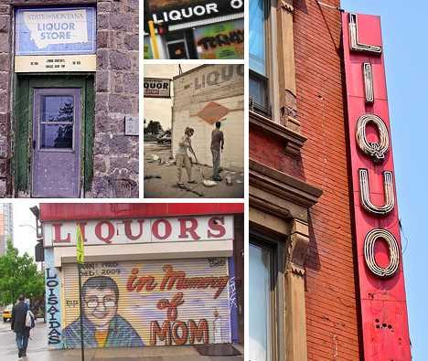 abandoned liquor stores