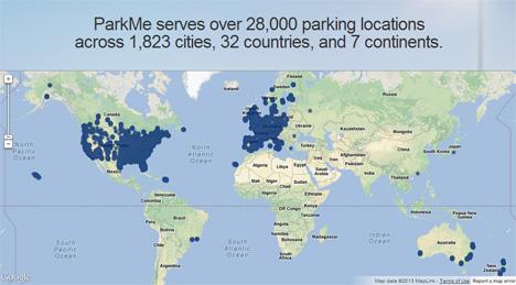 parkme app locations