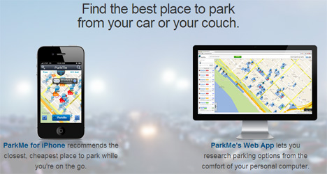 parkme mobile and computer