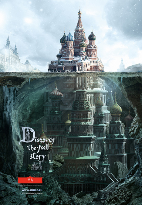 russian architecture kremlin ad