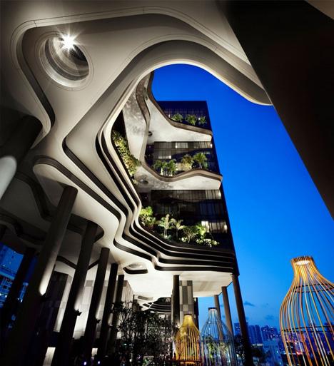 sky garden terrace level