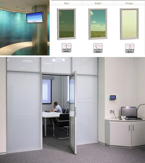 smart glass room examples