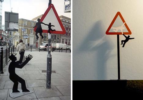 street art brad downey