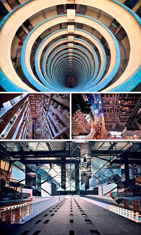 vertical city landscape photos