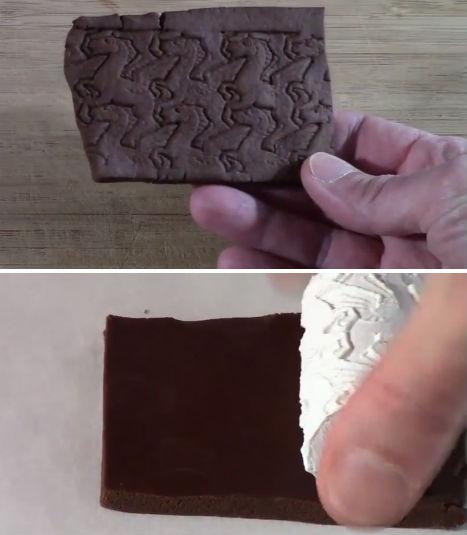 3D Printed Food Escher Cookies