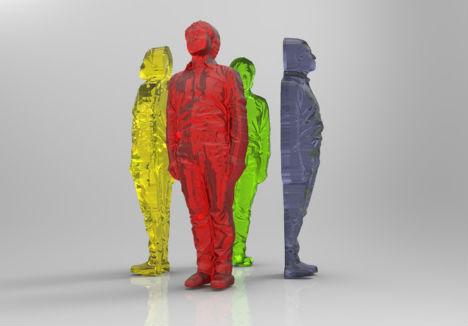3D Printed Food Gummy