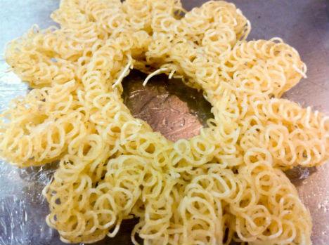 3D Printed Food Ramen Noodles