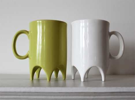 3D Printed Home Decor 1st Floor Mug