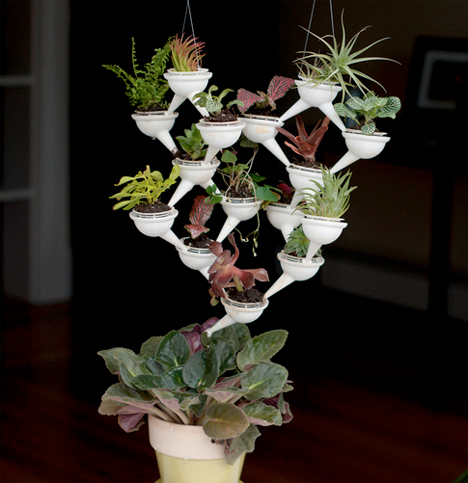 3D Printed Home Decor Aqueduct Planter