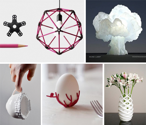 Decor on demand 14 3d printed home accents urbanist for Home decor and accents