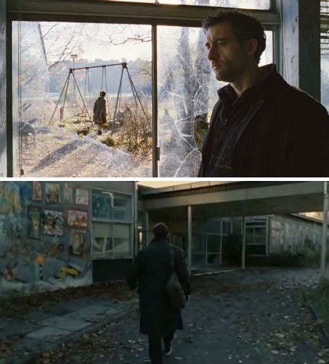 Abandoned Places in Movies Children of Men