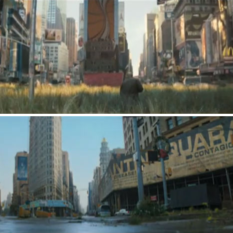 Abandoned Places in Movies I Am Legend