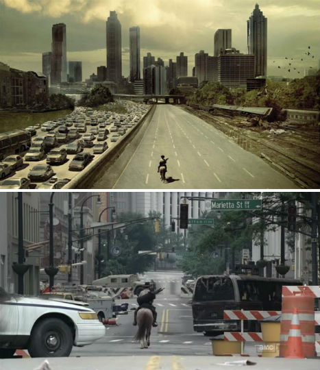 Abandoned Places in Movies The Walking Dead