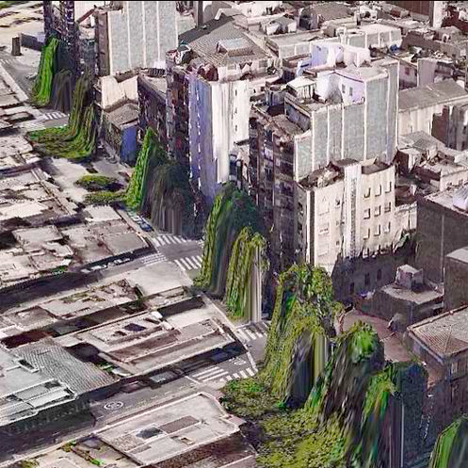 Apple Maps Glitch Art 2