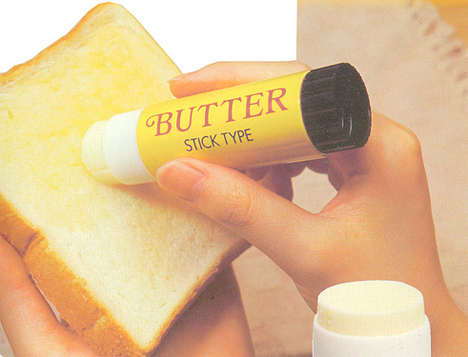 Chindogu Butter Stick