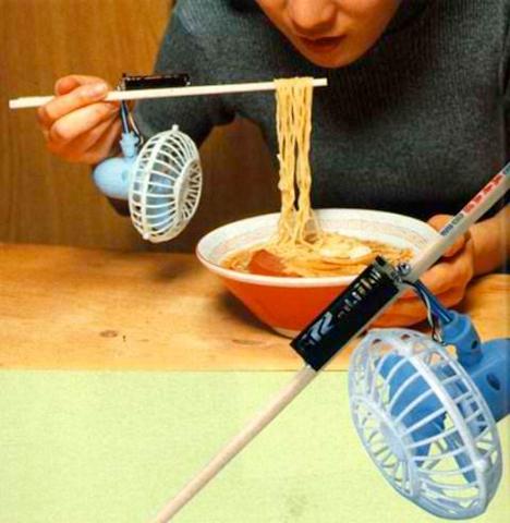 Chindogu Chopsticks Fan