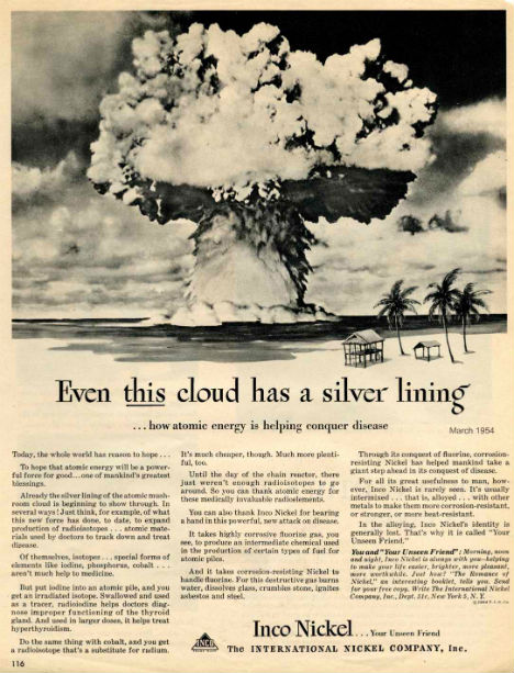 Cold War Ads Even This Cloud