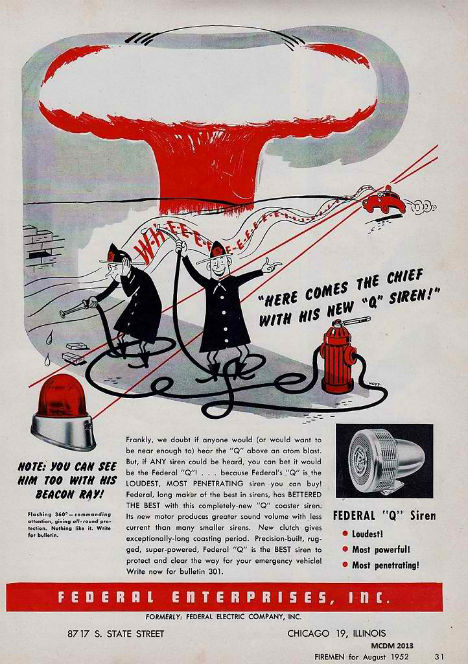 Cold War Ads Here Comes the Chief