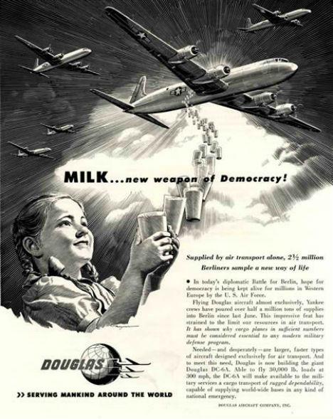Cold War Ads Milk Weapon Democracy