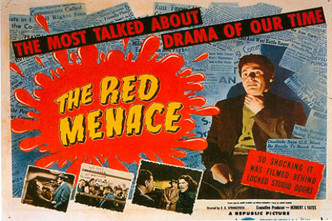 Cold War Ads The Red Menace