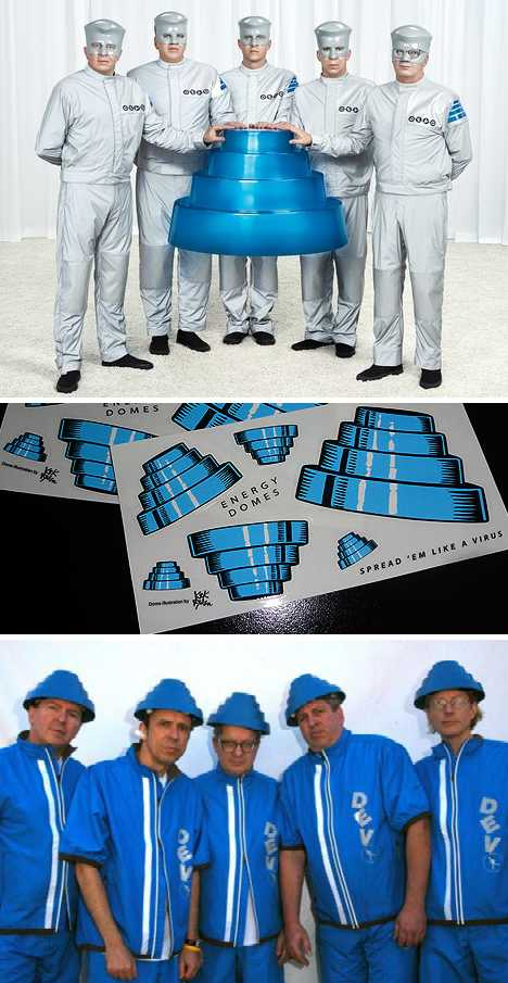 DEVO Energy Dome blue